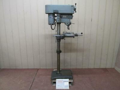 Clausing Model 16vc Variable Speed Floor Drill Press 15 34 Hp 330 - 4500 Rpm