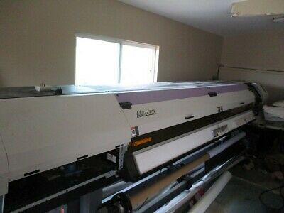 Mimaki Ujv55-320 Led Uv Large Format Printer With Software