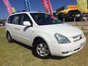 2007 Kia Carnival VQ MY07 EX Luxury White 4 Speed Sports Automatic Wagon Wangara Wanneroo Area Preview