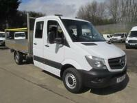 Mercedes-Benz Sprinter 313 CDi LWB D/Cab Dropside DIESEL MANUAL WHITE (2016)