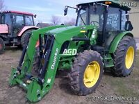 2013 John Deere 5083E 4WD Tractor with Cab & Loade