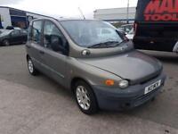 Fiat Multipla 1.9 JTD 110 ELX 6 SEATS H13 MCW DIESEL MANUAL 2002/H