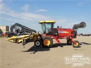2012 NH H8060 with 36HB Swather WAY BELOW COST! 452hrs 0.0%-18MO