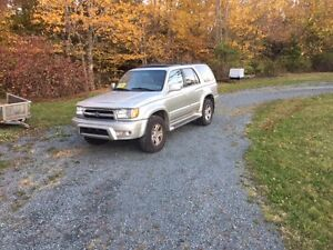 SOLD SOLD 2000 Toyota 4Runner Limited SUV, Crossover