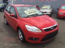 2010 Ford Focus LV TDCi Red 6 Speed Automatic Hatchback Lansvale Liverpool Area Preview