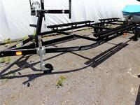 Tandem Axle Karavan Pontoon Trailer - Holds 22 to 25 Foot Boats