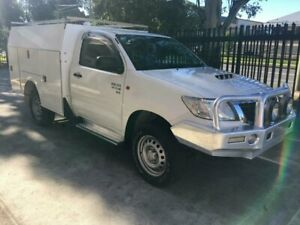 Toyota Hilux 2014 AUTOMATIC Diesel 4x4 with Service Body Seven Hills Blacktown Area Preview