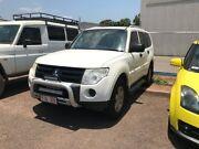 2008 Mitsubishi Pajero NT MY09 GLS White 5 Speed Sports Automatic Wagon Winnellie Darwin City Preview