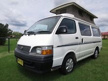1999 Toyota Hiace Discoverer Pop Top Camper – AUTO – 1 OWNER Glendenning Blacktown Area Preview
