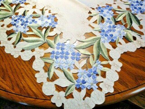 Blue Hydrangea Table Topper