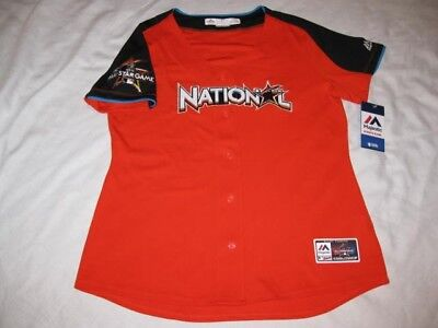 2017 MLB All-Star Game Womens XL Authentic National League Fan Fashion Jersey