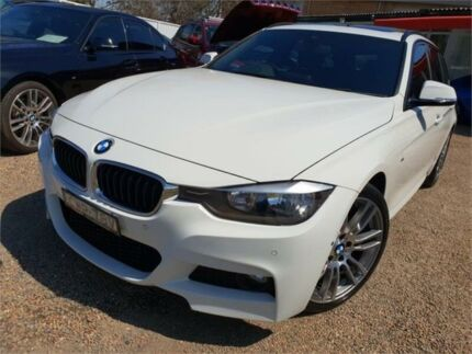 2014 BMW 318d F31 MY1114 M Sport Touring White 8 Speed Automatic Wagon Sylvania Sutherland Area Preview