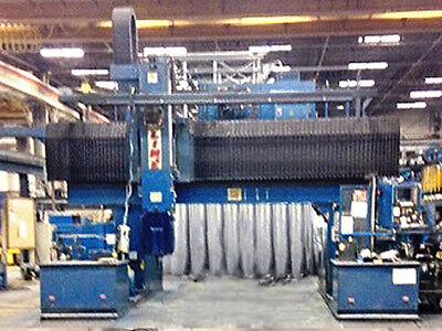 Henri-line Macbormill 235hs6q 6 Axis Cnc Gantry Type Machining Center
