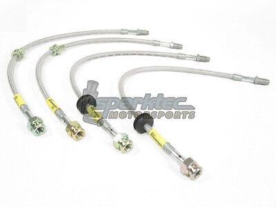 Goodridge G Stop Stainless Steel Brake Line Kit 04 13 Mazda Mazda3 ALL NEW