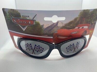 NWT Boys Kids DISNEY PIXAR CARS Sunglasses Lightning McQueen Black red  02 - Lightning Mcqueen Sunglasses