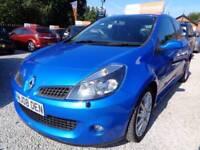 Renault Clio 2.0 VVT sport 3dr (blue) 2008