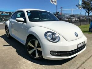 2013 Volkswagen Beetle 1L MY14 Coupe DSG White 7 Speed Sports Automatic Dual Clutch Liftback Mulgrave Hawkesbury Area Preview
