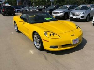 2006 Chevrolet Corvette 3LT Convertible yellow auto