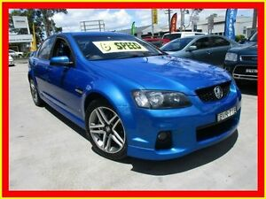 2011 Holden Commodore VE II SV6 Blue 6 Speed Manual Sedan North Parramatta Parramatta Area Preview
