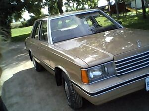 Mint Condition 1983 Dodge Aries