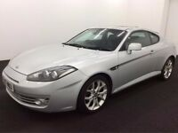 2007 HYUNDAI COUPE SIII 2.0 PETROL MANUAL SILVER GOOD DRIVE CHEAP CAR ALLOYS NOT CELICA MR2 3 SERIES