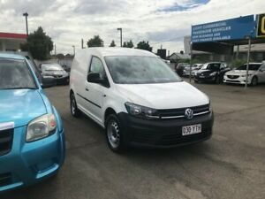 VOLKSWAGEN CADDY RUNNER 1.2T SWB 5DOORS 2017 5SPEED MANUAL TURBO WHITE LOW KMS LONG REGO WITH WARRAN Lansvale Liverpool Area Preview