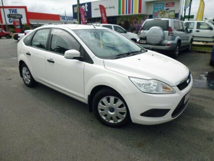 2009 Ford Focus LV CL White 4 Speed Sports Automatic Hatchback Cairns Cairns City Preview