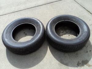 2 Fuzion All Season Tires 215/70/15