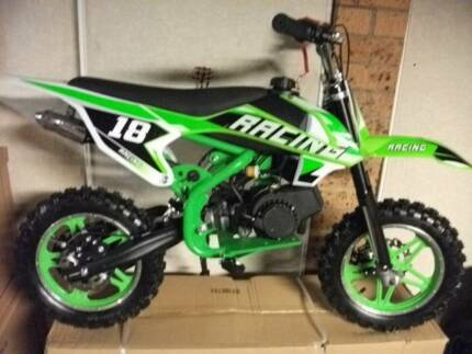 Kids dirt bikes 50cc kids dirt bikes and quad bikes brand new Underwood Logan Area Preview