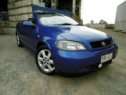 2002 Holden Astra TS MY03 Convertible Blue 5 Speed Manual Convertible Yeerongpilly Brisbane South West Preview