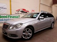 MERCEDES-BENZ E CLASS 1.8 E200 CGI BLUEEFFICIENCY AVANTGARDE 5d AUTO 184 (silver) 2011