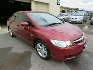 2007 Honda Civic 40 VTi-L Maroon 5 Speed Automatic Sedan Werribee Wyndham Area Preview