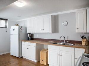 Safe and quiet neighbourhood, 1 Bedroom + den basement suite