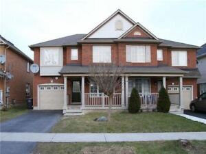 Beautiful 4 Bedroom Semi With Private Drive Way,