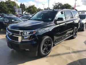 NEW 2017 Chevrolet Tahoe LT black leather NAV DVD midnight edit