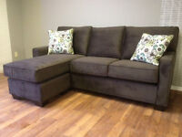 WE PAY the GST!!! -Sofa with Floating Ottoman - only $988!