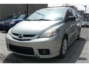 2006 Mazda 5, TT EQUIPEE, TOIT OUVRANT, AC, MAGS, 7 PASSAGER