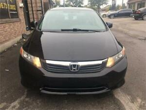 2012 Honda Civic Sedan-LOW KMS -NEW MVI!!!!