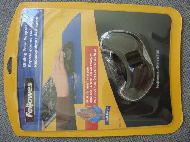 Fellowes 91807 Mauspad Mouspad Handgelenkauflage Gel mit Microban NEU schwarz