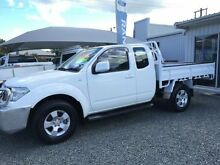 2013 Nissan Navara D40 MY13 ST-X (4x4) White 6 Speed Manual Kingcab Newcastle 2300 Newcastle Area Preview