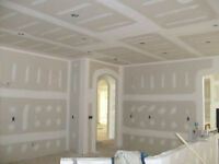 Drywall, Taping, Mudding, Ceiling Texture - Free estimates