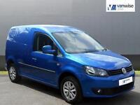 2014 Volkswagen Caddy C20 TDI HIGHLINE Diesel blue Manual