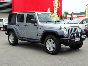 2013 Jeep Wrangler JK MY2014 Unlimited Sport Silver 5 Speed Automatic Softtop Garbutt Townsville City Preview