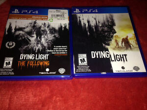 DYING LIGHT  & DYING LIGHT THE FOLLOWING