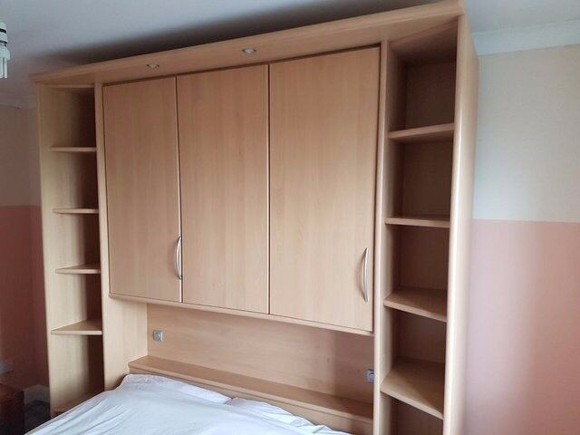 Nolte Overbed Bedroom Furniture With Double Bed For Sale Sheffield - Bedroom furniture shops in sheffield