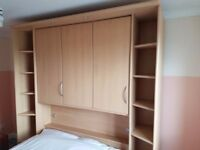 Nolte Overbed bedroom furniture with double bed for sale Sheffield
