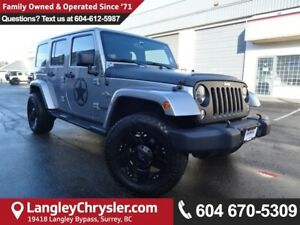 2014 Jeep Wrangler Unlimited Sahara *ACCIDENT FREE*ONE OWNER*...