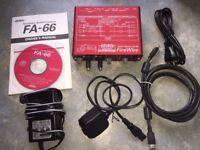 Edirol FireWire Audio Capture FA-66