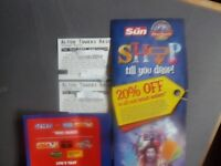 TWO ALTON TOWERS TICKETS FOR FRIDAY 2ND JUNE 2017 ADMITS ADULT OR CHILD