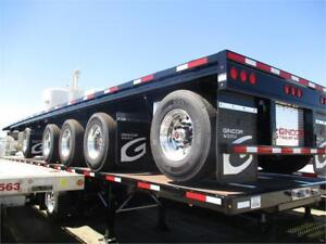 (10) 2019 GINCOR 48' AND 53' FOUR AXLE FLATBEDS SPIF #3